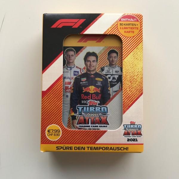 """Turbo Attax """"Formel 1"""" (2021) - Mini-Tin B (Perez)"""