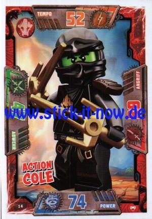 Lego Ninjago Trading Cards - SERIE 2 (2017) - Nr. 14