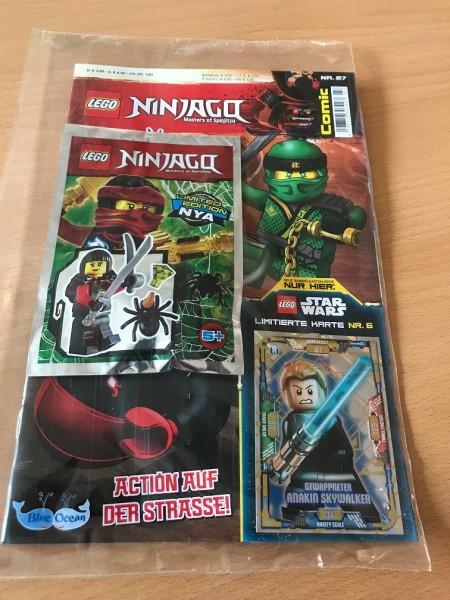 Lego Ninjago Comic Nr. 27 (mit Lego Figur und LE6)