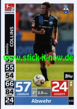 "Topps Match Attax Bundesliga 18/19 ""Action"" - Nr. 539"