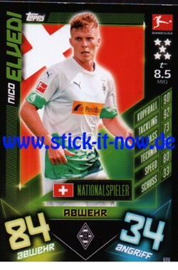Topps Match Attax Bundesliga 2019/20 - Nr. 404 (Nationalspieler)