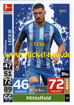 Topps Match Attax Bundesliga 18/19 - Nr. 36