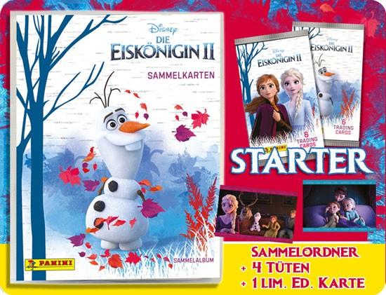 """Disney Die Eiskönigin 2 """"Trading Cards"""" (2019) - Starter-Set"""