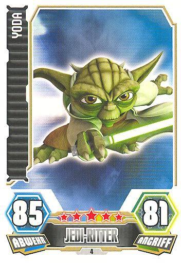 Force Attax - Serie 3 - Yoda - Nr. 4