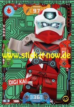 Lego Ninjago Trading Cards - SERIE 5 (2020) - Nr. 18 ( Neon Karte )