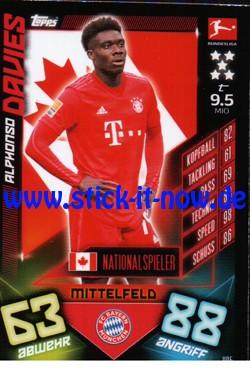 Topps Match Attax Bundesliga 2019/20 - Nr. 405 (Nationalspieler)
