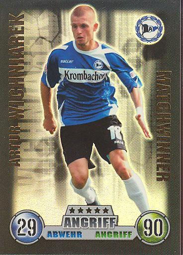 Artur Wichniarek - Match Attax 08/09 - Matchwinner - Arm. Bielefeld