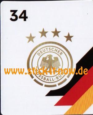 Rewe DFB Sammelkarten EM 2020 - DFB Logo - Nr. 34