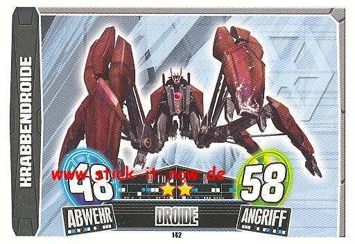 Force Attax Movie Collection - Serie 3 - KRABBENDROIDE - Nr. 142