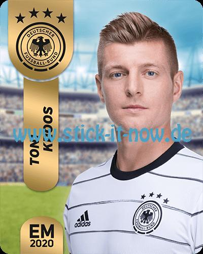 """Ferrero Team Sticker EM 2020 - """"Portrait"""" Nr. 19"""