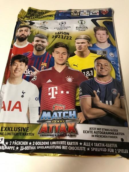 Match Attax Champions League 2021/22 - Starter-Set