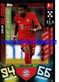 "Topps Match Attax Bundesliga 2019/20 ""Action"" - Nr. 483"