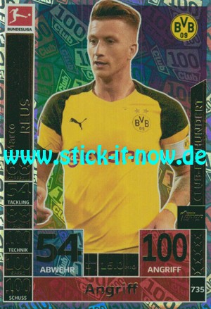 "Topps Match Attax Bundesliga 18/19 ""Extra"" - Nr. 735 (Club 100)"