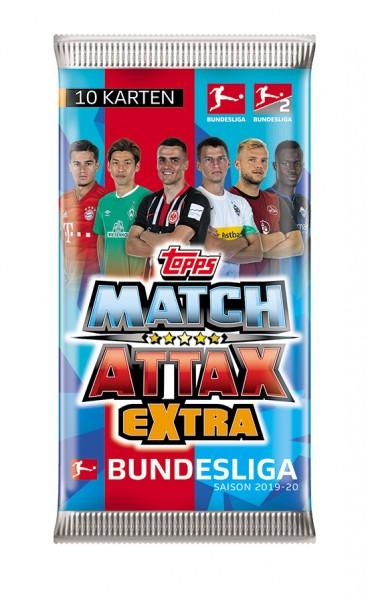 """Topps Match Attax Bundesliga 2019/20 """"Extra"""" - Booster (10 Karten)"""