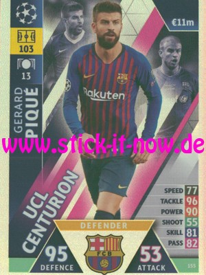 """Match Attax CL 18/19 """"Road to Madrid"""" - Nr. 155"""