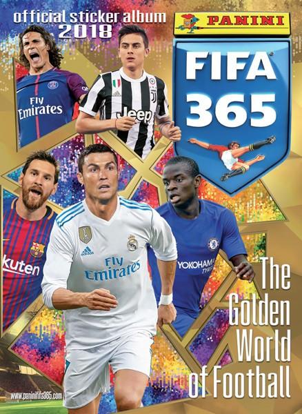 """Panini FIFA 365 """"Sticker"""" 2018 - Stickeralbum"""