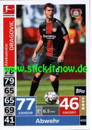 "Topps Match Attax Bundesliga 18/19 ""Action"" - Nr. 400"
