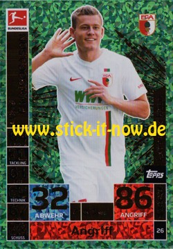 Topps Match Attax Bundesliga 18/19 - Nr. 26 (Hattrick-Held)