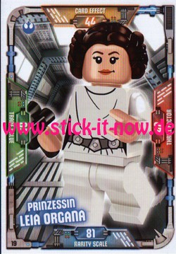 Lego Star Wars Trading Card Collection (2018) - Nr. 19