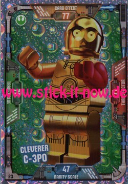 Lego Star Wars Trading Card Collection (2018) - Nr. 23 (Glitzer)