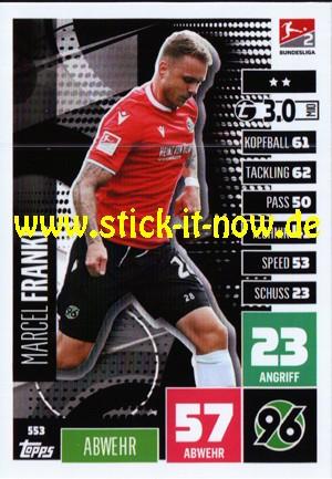 """Topps Match Attax Bundesliga 2020/21 """"Extra"""" - Nr. 553"""