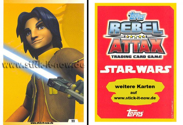 Rebel Attax - Serie 1 (2015) - STRIKE-FORCE - REBELLION 2 - Nr. 99