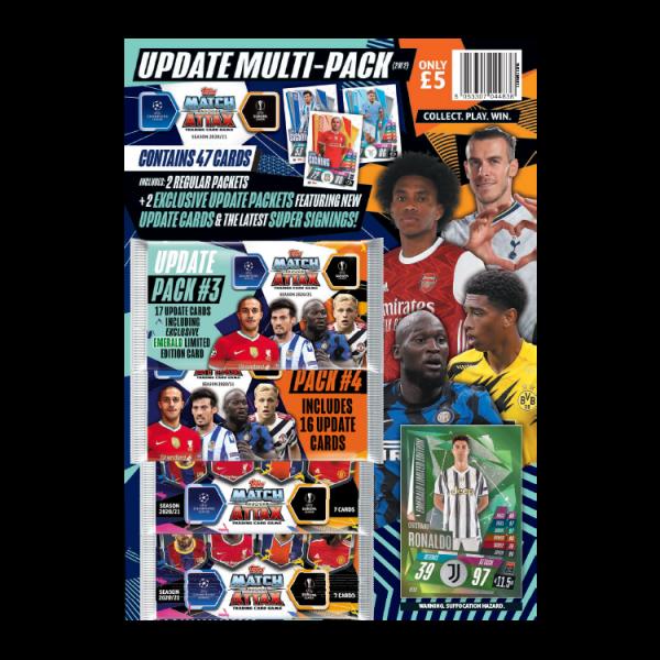 "Match Attax Champions League 2020/21 ""Update"" - Multipack 2"