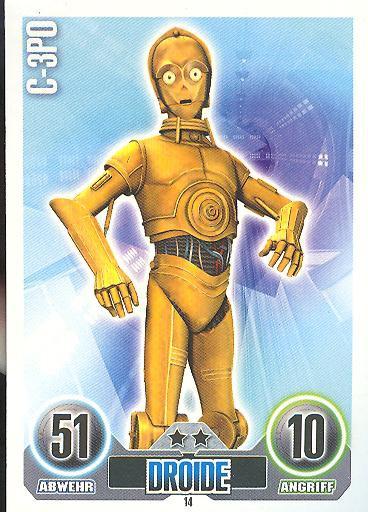 Force Attax - C-3PO - Droide - Die Republik - SERIE 1 (2010)