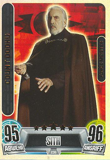 Force Attax Movie Collection - Serie 2 - Force-Meister - Count Dooku - Nr. 236