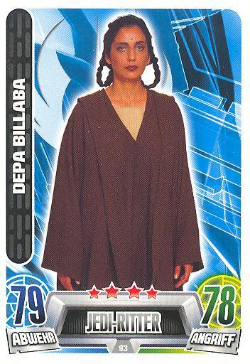 Force Attax Movie Collection - Serie 2 - DEPA BILLABA - Nr. 93