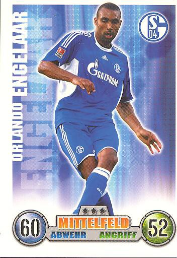 Orlando Engelaar - Match Attax 08/09 - FC Schalke 04