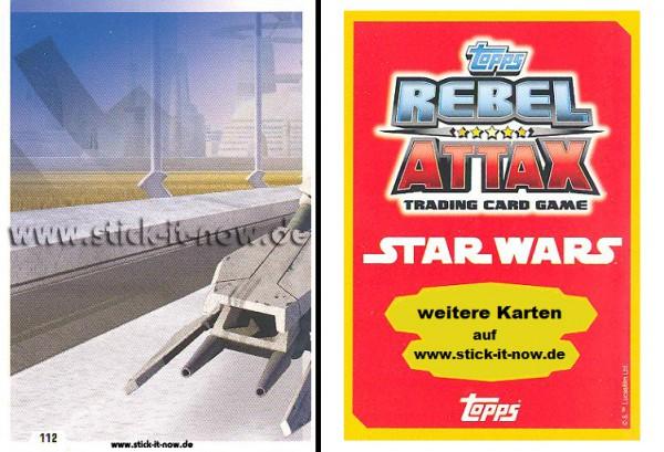 Rebel Attax - Serie 1 (2015) - STRIKE-FORCE - DAS IMPERIUM 1 - Nr. 112