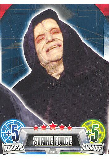 Force Attax Movie Collection - Serie 2 - STRIKE FORCE - Separatist - Nr. 190