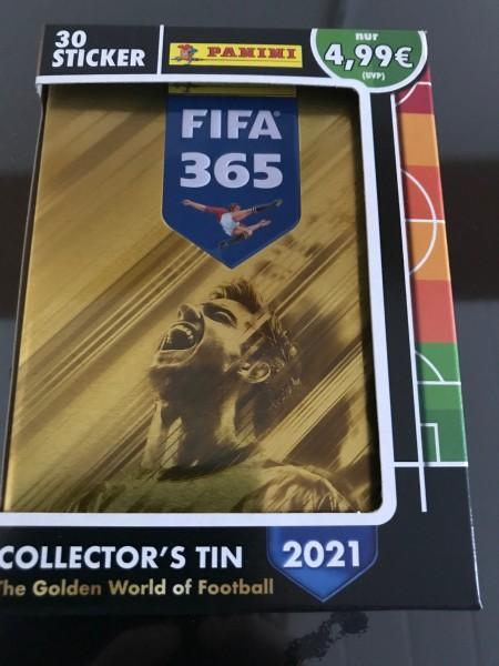 "FIFA 365 ""The Golden World of Football"" (2021) - Mini-Tin ( Variante B )"