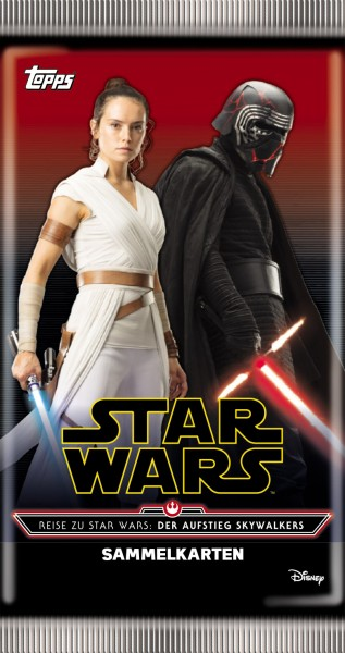 """Star Wars """"Der Aufstieg Skywalkers"""" (2019) - Booster (5 Karten)"""