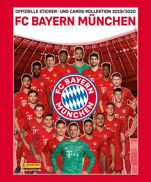 """FC Bayern München 19/20 """"Sticker"""" - Stickertüte ( 4 Sticker + 1 Karte )"""