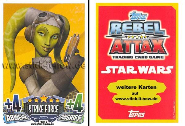 Rebel Attax - Serie 1 (2015) - STRIKE-FORCE - REBELLION 2 - Nr. 104A