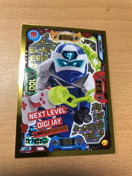 "Lego Ninjago Trading Cards - SERIE 5 ""Next Level"" (2020) - Nr. LE9"