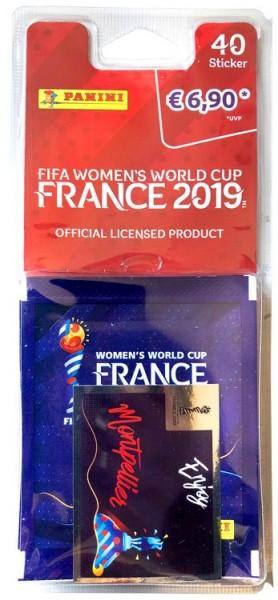 Panini Frauen WM 2019 Frankreich - Blister ( 8 Tüten )
