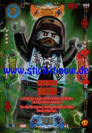 "Lego Ninjago Trading Cards - SERIE 5 ""Next Level"" (2020) - Nr. 78 (Level Up)"
