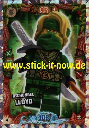 Lego Ninjago Trading Cards - SERIE 6 (2021) - Nr. 4 (Insel-Holofolie)