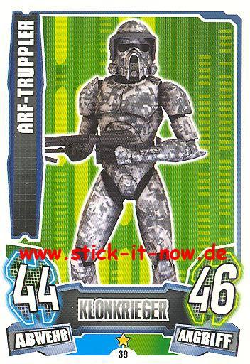 Force Attax - Star Wars - Clone Wars - Serie 4 - ARF-TRUPPLER - Nr. 39