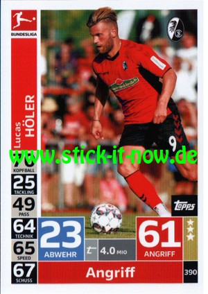 "Topps Match Attax Bundesliga 18/19 ""Action"" - Nr. 390"
