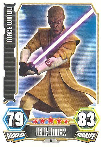 Force Attax - Serie 3 - Mace Windu - Nr. 5