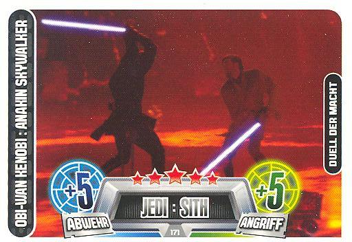 Force Attax Movie Collection - Serie 2 - OBI-WAN KENOBI : ANAKIN SKYWALKER - Nr. 171