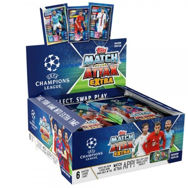 "Match Attax Champions League 2019/20 ""Extra"" - Display ( 30 Tüten )"