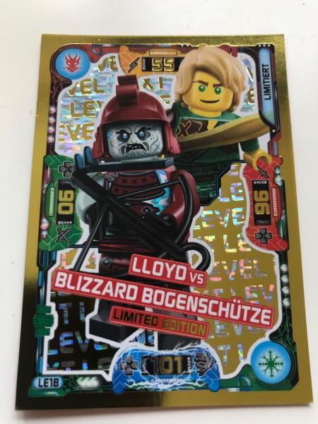 "Lego Ninjago Trading Cards - SERIE 5 ""Next Level"" (2020) - Nr. LE18"