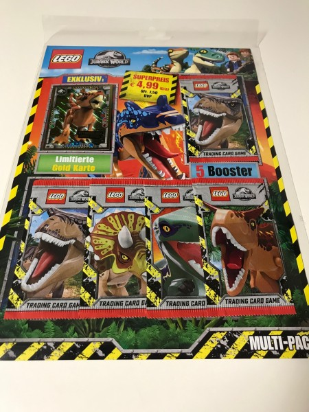 "LEGO ""Jurassic World"" Trading Cards (2021) - Multipack 1 (LE 7)"