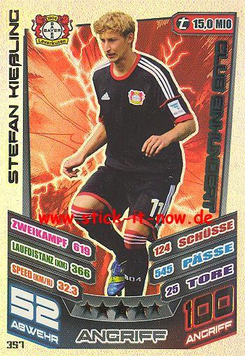 Match Attax 13/14 - Bayer Leverkusen - Stefan Kießling - Club 100 - Nr. 357
