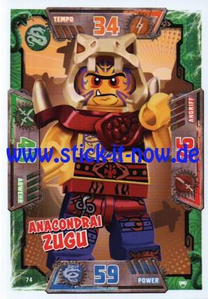 Lego Ninjago Trading Cards - SERIE 2 (2017) - Nr. 74
